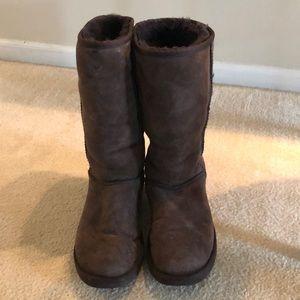 Brown class UGG boots